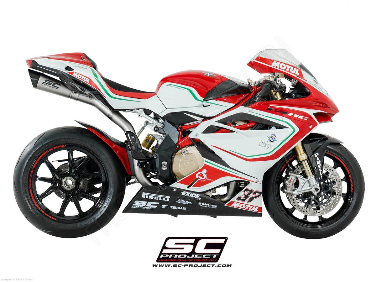 S1 Exhaust by SC-Project MV Agusta / F4 RR / 2014 (M04-T41T)