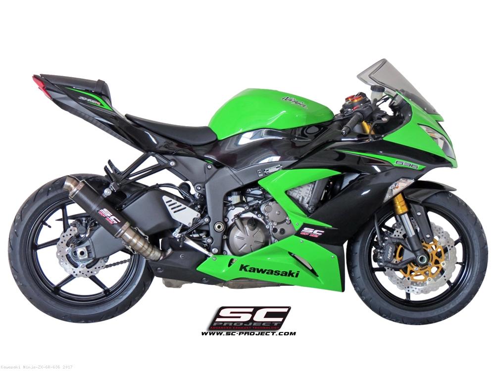 GP M2 Exhaust By SC Project Kawasaki Ninja ZX 6R 636 2017