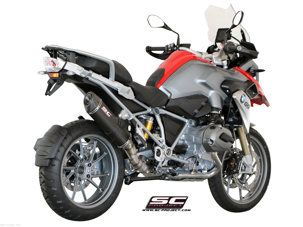 oval exhaust by sc project bmw r1200gs 2016 b13 02. Black Bedroom Furniture Sets. Home Design Ideas