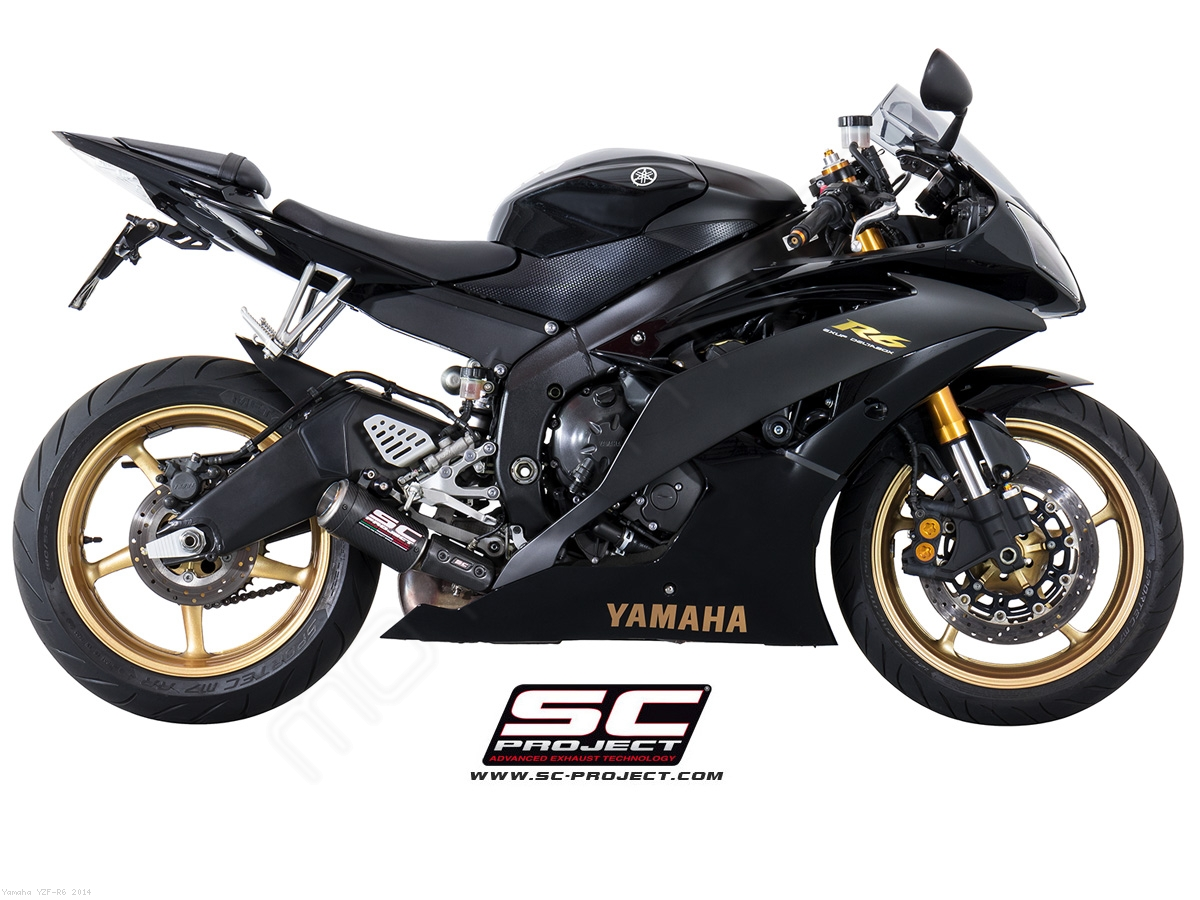 low mount cr t exhaust by sc project yamaha yzf r6