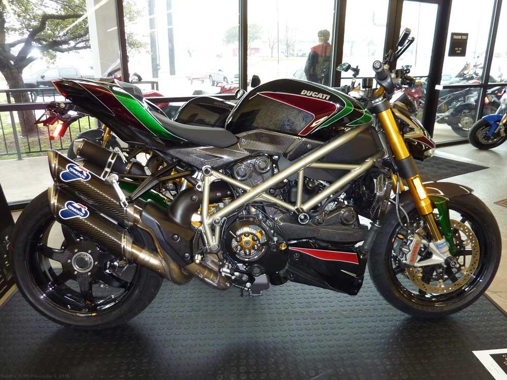 7 Spoke Carbon Fiber Wheel Set By Bst Ducati 1299 Panigale S