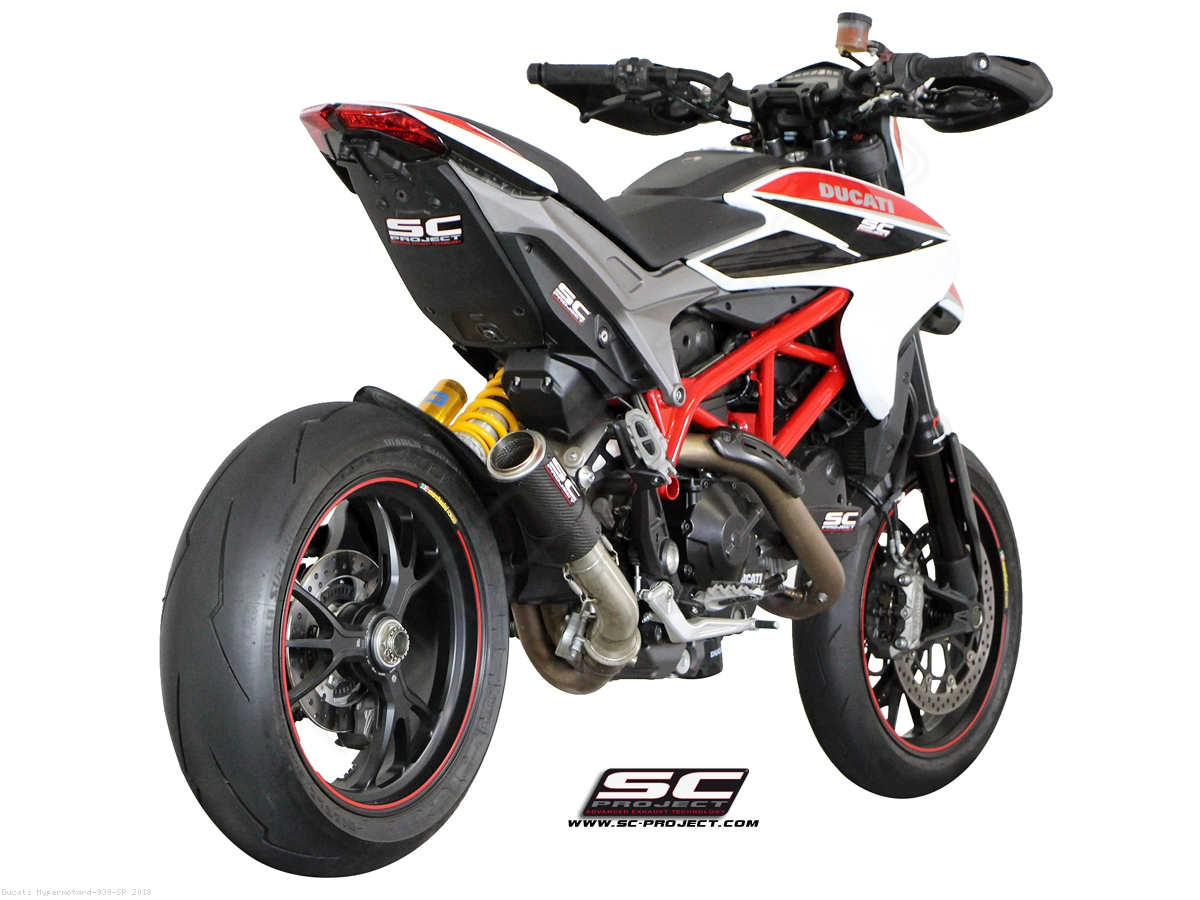 Cr T Exhaust By Sc Project Ducati Hypermotard 939 Sp 2018 D10 L38c
