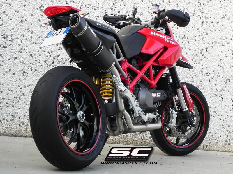 BMW Maintenance Program >> Ducati Hypermotard 1100 EVO / SP Oval 2-1 Full System ...