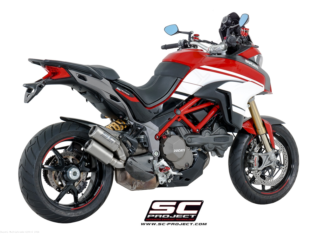 cr t exhaust by sc project ducati multistrada 1200 s 2016 d19 dt36t. Black Bedroom Furniture Sets. Home Design Ideas