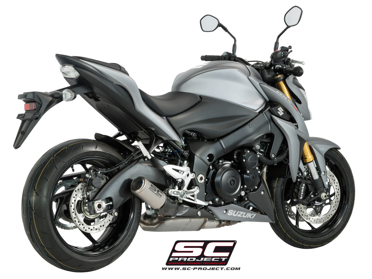 cr t exhaust by sc project suzuki gsx s1000 s11 36. Black Bedroom Furniture Sets. Home Design Ideas