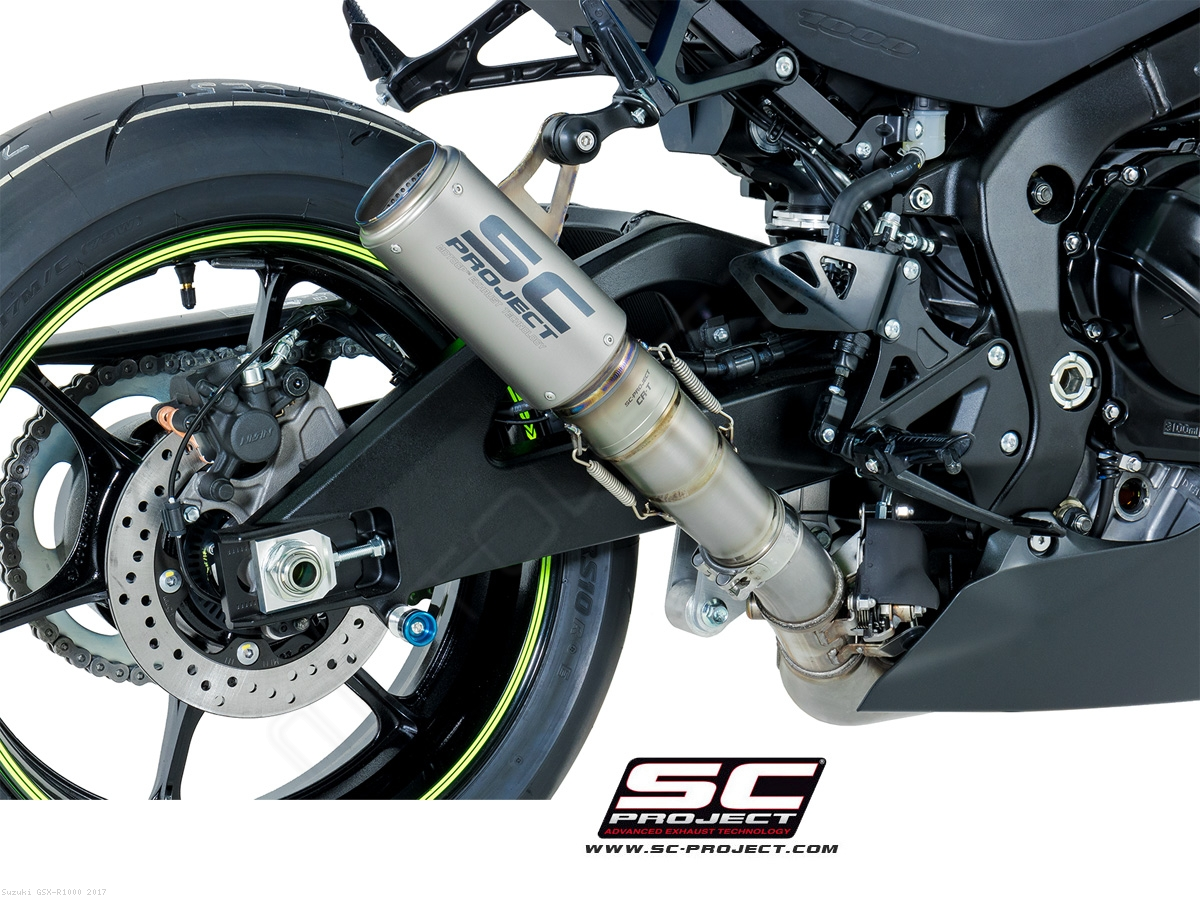 cr t exhaust by sc project suzuki gsx r1000 2017 s16 t36. Black Bedroom Furniture Sets. Home Design Ideas