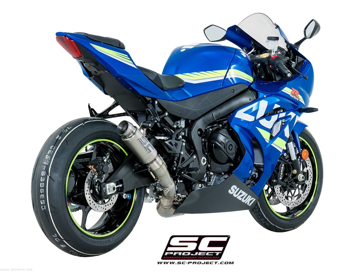 2018 suzuki gsxr 1000. interesting suzuki gp70r exhaust by scproject suzuki  gsxr1000 2018 and suzuki gsxr 1000 t