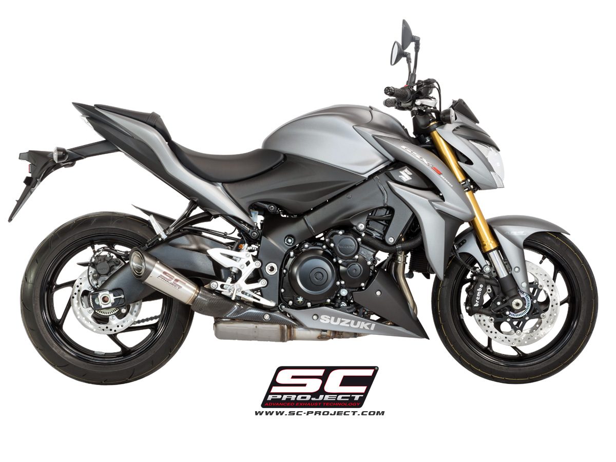s1 exhaust by sc project suzuki gsx s 1000 s11 41a. Black Bedroom Furniture Sets. Home Design Ideas