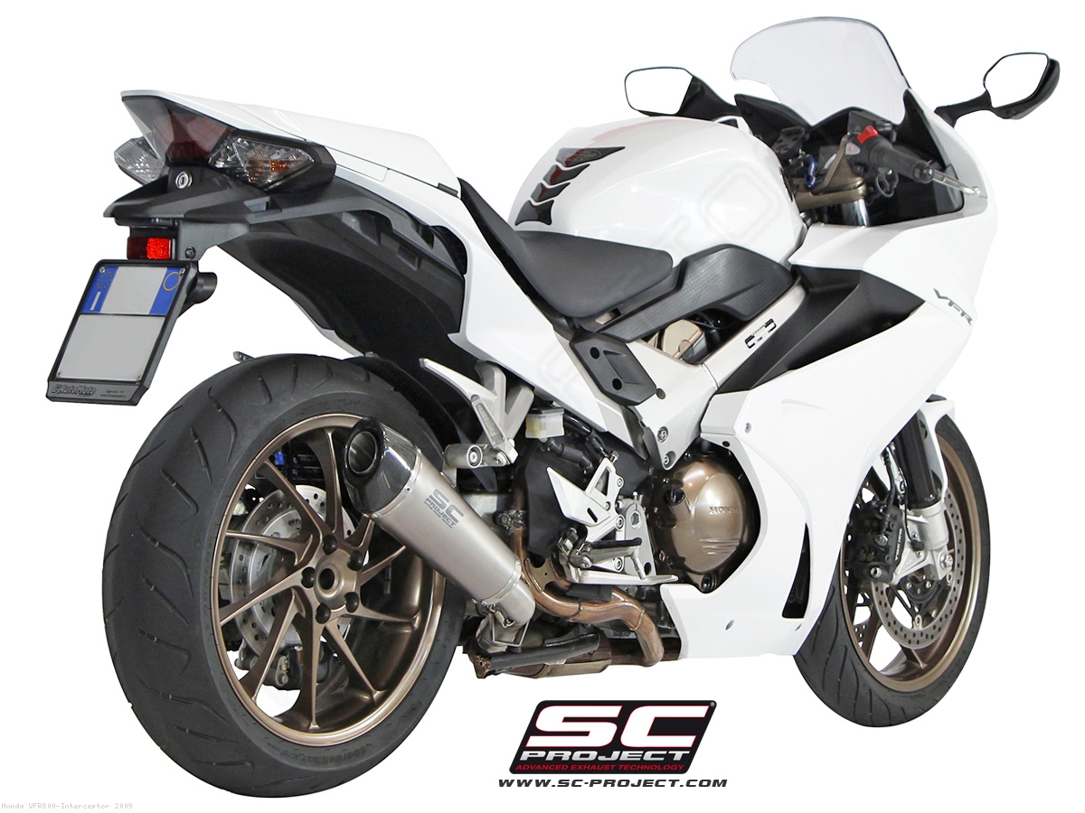 Conic Exhaust by SC-Project Honda / VFR800 Interceptor / 2009 (H11-34T)