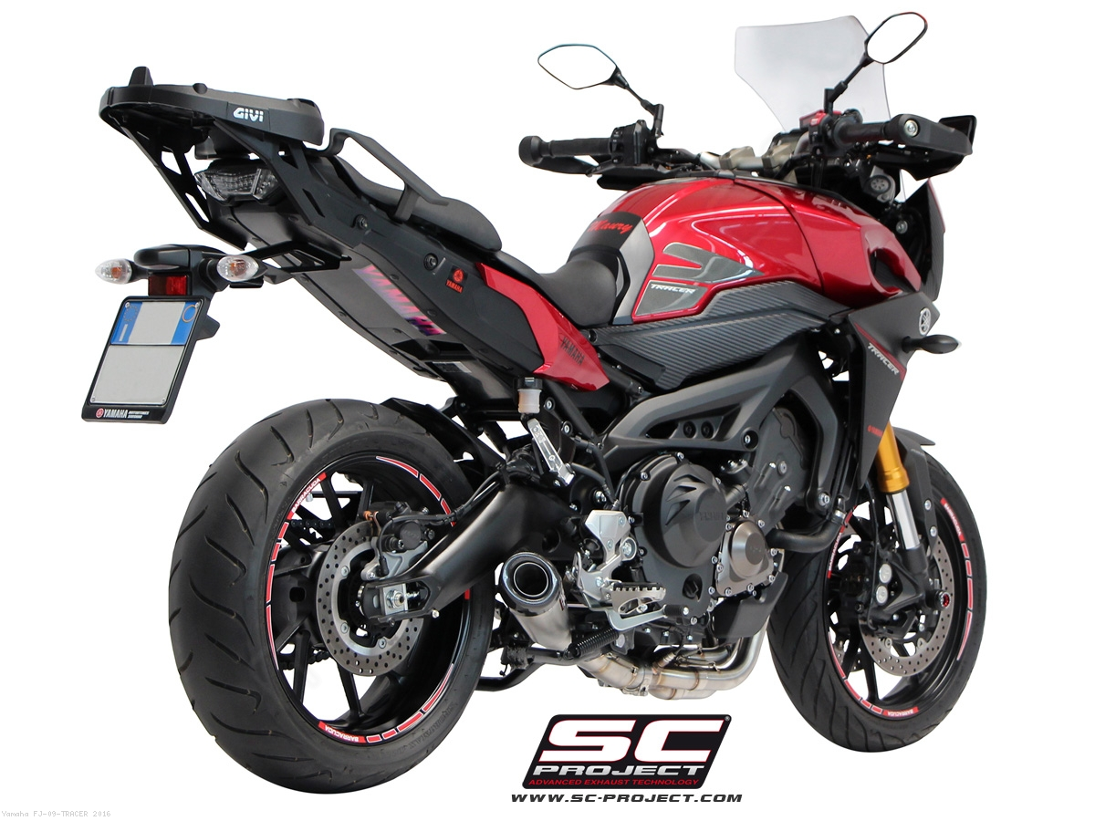 conic full system exhaust by sc project yamaha fj 09. Black Bedroom Furniture Sets. Home Design Ideas