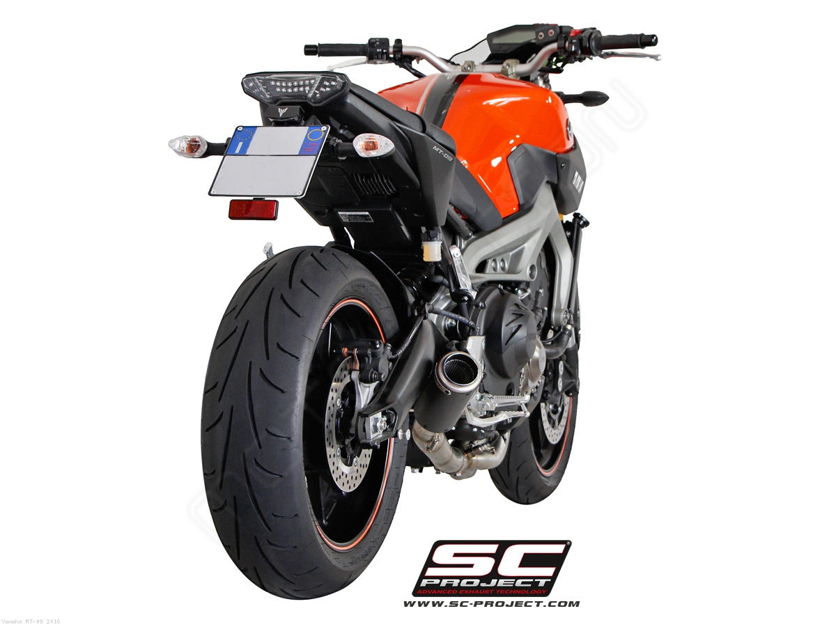 cr t exhaust by sc project yamaha mt 09 2016 y19 c38c. Black Bedroom Furniture Sets. Home Design Ideas