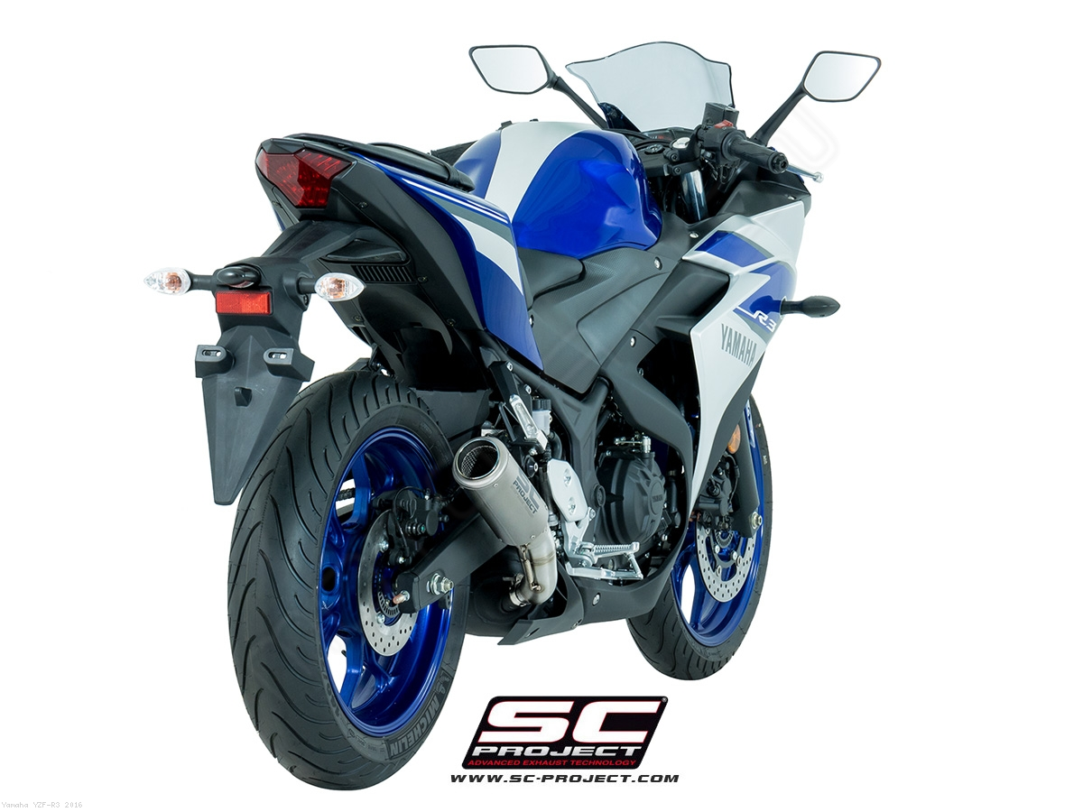 Cr T Exhaust By Sc Project Yamaha Yzf R3 2016