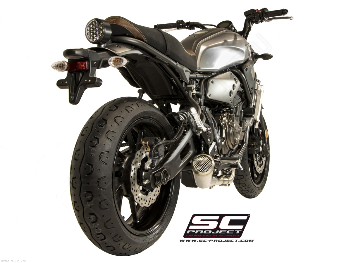 14 Model Honda 70 >> Conic 70s Style Full System Exhaust by SC-Project Yamaha ...