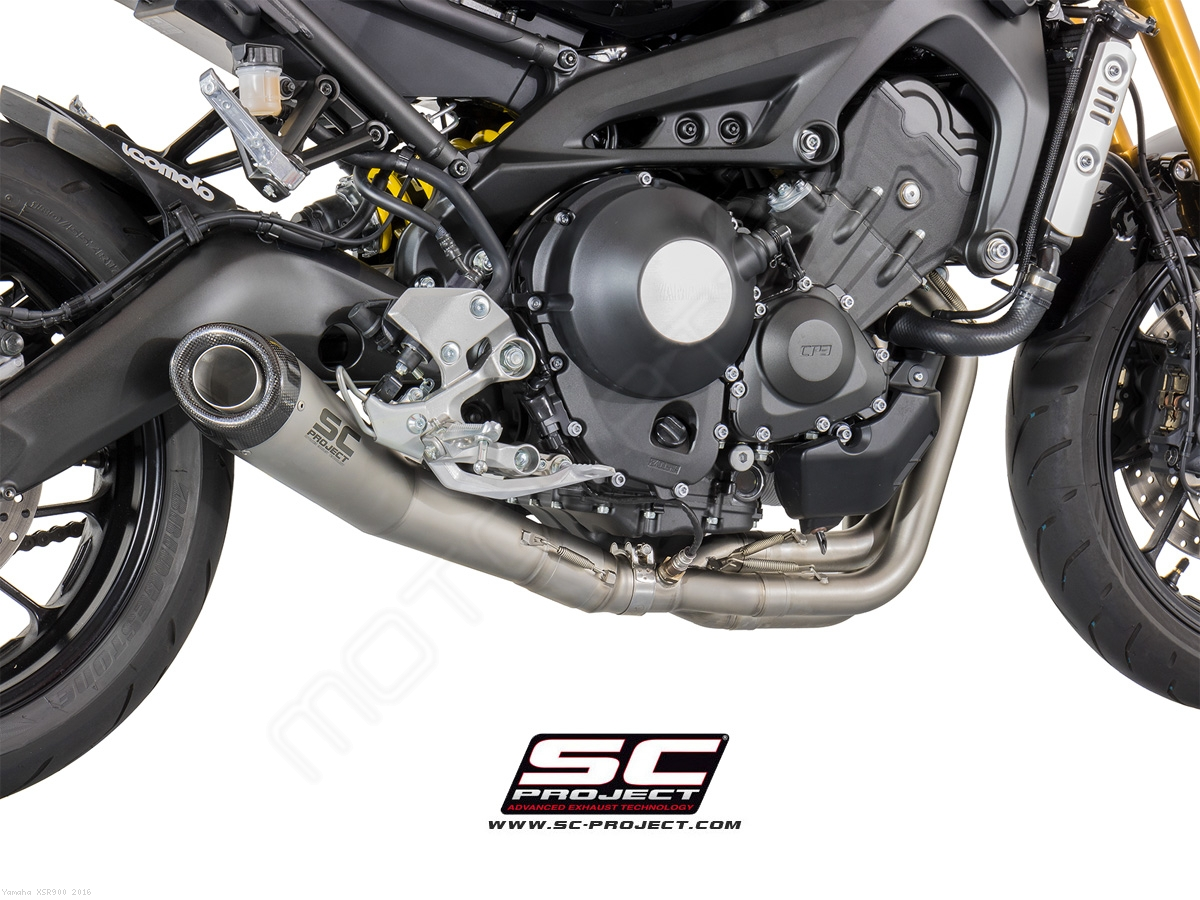 Conic Full System Exhaust By Sc Project Yamaha Xsr900