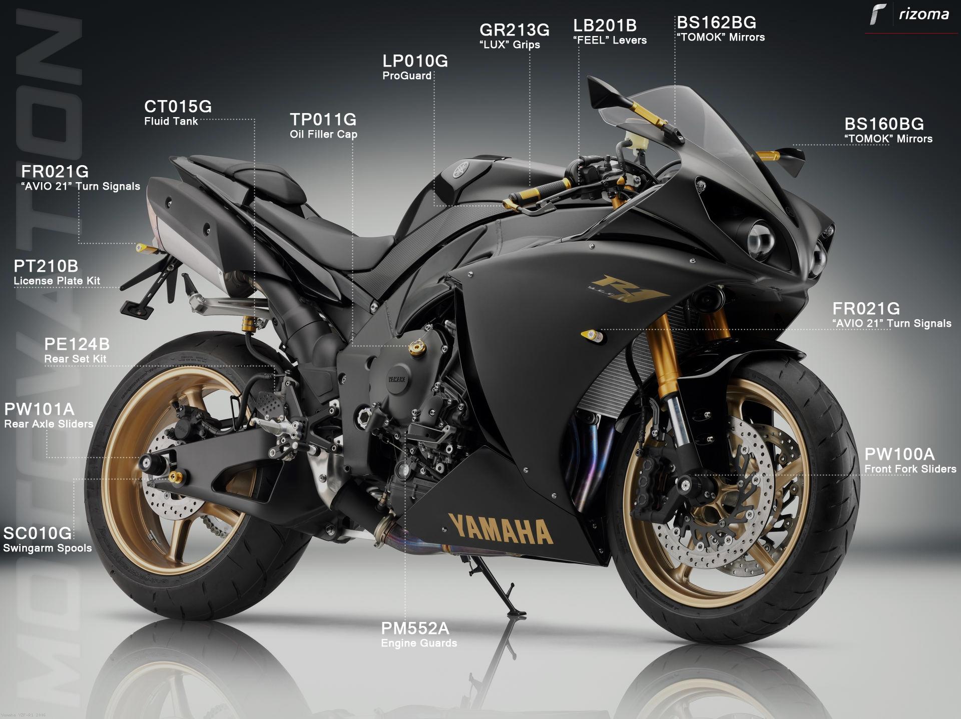Yamahar M M Y Yamaha Yzf R
