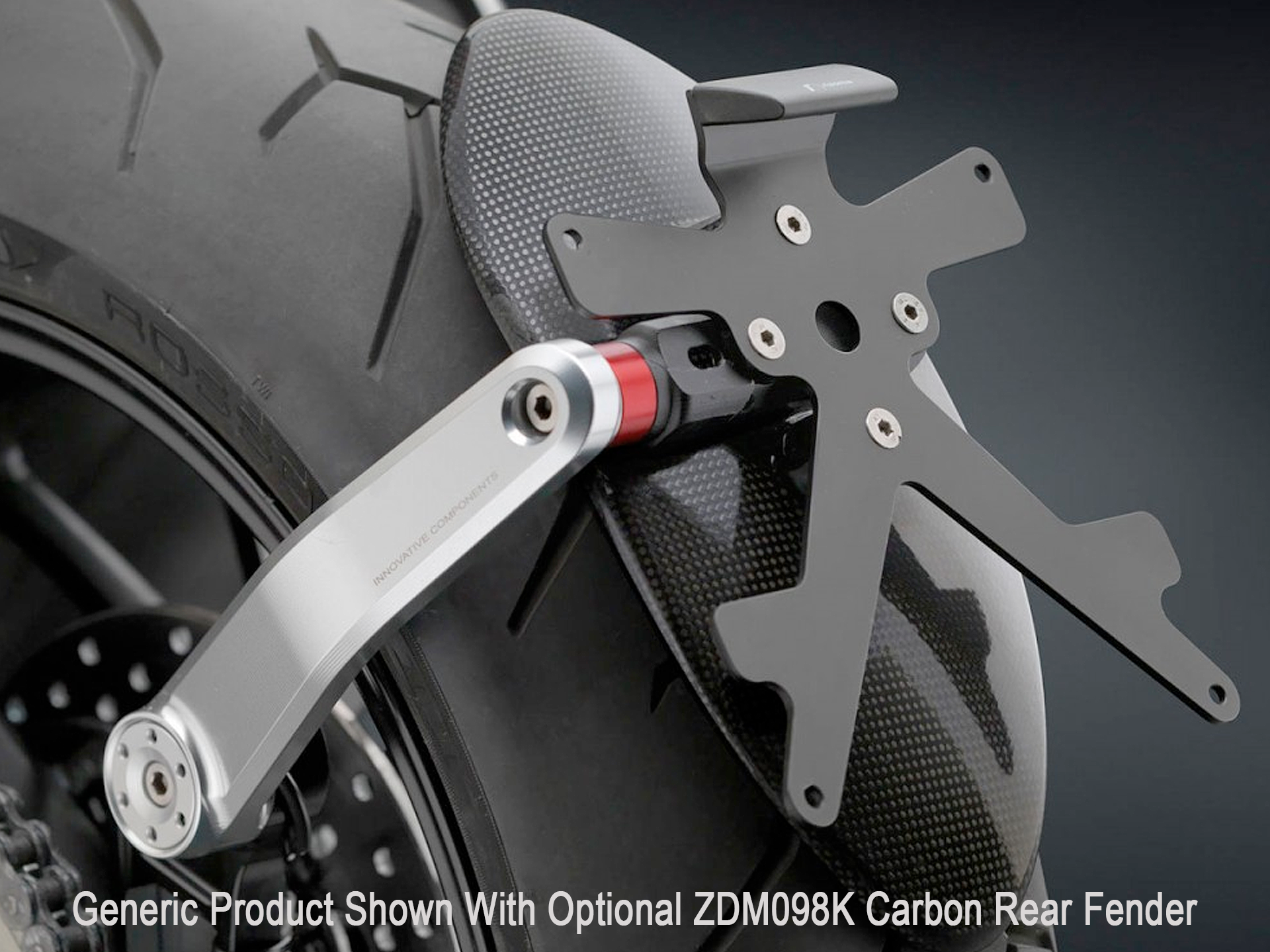 rizoma license plate kit for speed triple 1050 (2011+)