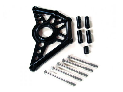 Joker Machine Black Sprocket Cover For Triumph Bonneville