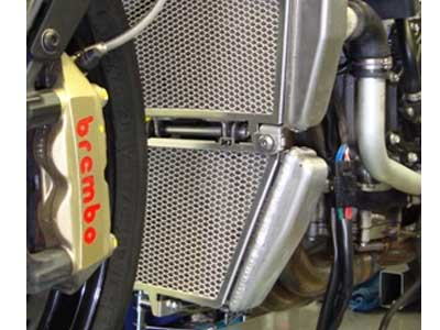 Aprilia Rsv4 Tuono V4r Radiator And Oil Cooler Guard Kit