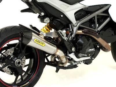 Ducati Hypermotard 821 X-Kone Exhaust by Arrow