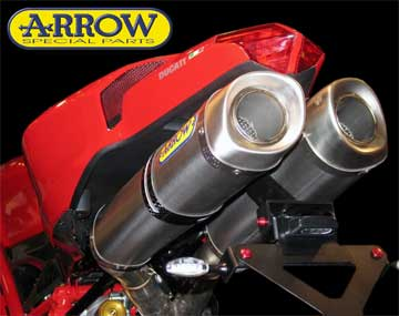 ducati 1098 arrow exhaust