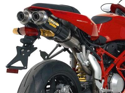 exhaust options 749 - ducati superbikes