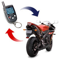 scorpio motorcyle security system alarms by motovation rfi fm protection safety from theft insurance