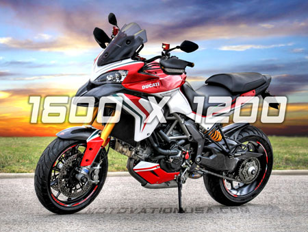 ducati multistrada tricolore motovation usa rizoma
