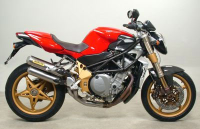 MV Agusta Brutale 910/1078 Mid-Pipe by Arrow 71304MI