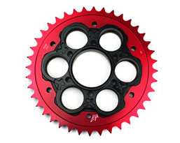 driven racing sprocket chain ducati carrier motovation sportbike accessories anodized billet