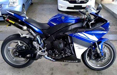 Yamaha R1 YZF1000 Street Frame Sliders 2009-2013