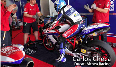 lightech all products motovation accessories carlos checa ducati race team track