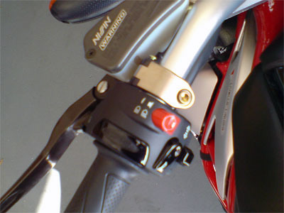Brake and Clutch Lever Clamp