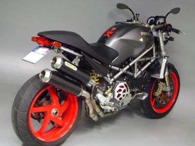 Ducati motorcycle parts, Custom.