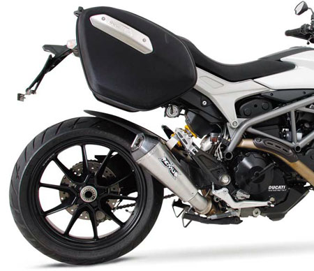 ducati hypermotard hyperstrada 821 slip on hypercone exhaust by remus. Black Bedroom Furniture Sets. Home Design Ideas