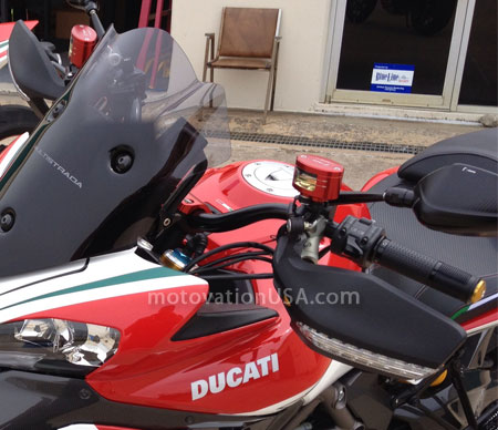 Rizoma Fluid next 27 motovation multistrada 1200 tricolore Tank