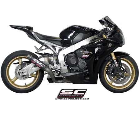 Honda Cbr1000rr Gpm2 Slipon Exhaust By Sc Project 2008 2014