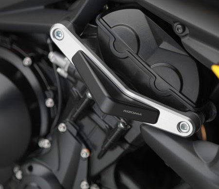 Triumph street Triple 675 frame sliders