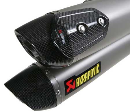 akrapovic titanium usa exhaust slip on silencer performance exhaust motovation