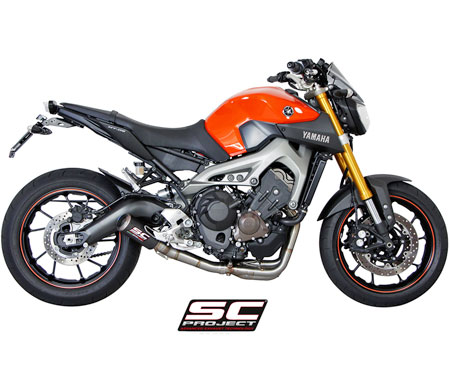 Yamaha Fz 09 Mt 09 2013 Full System Cr T Exhaust By Sc
