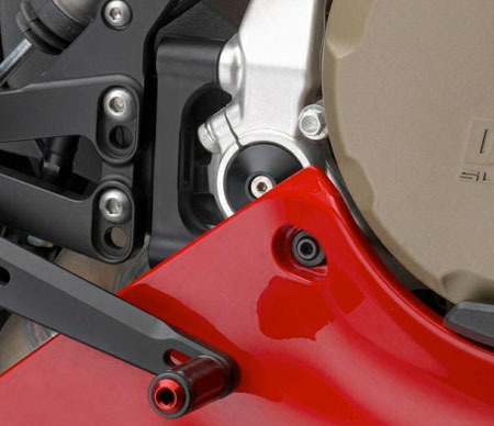 Ducati Rizoma Frame Hole Plug Kit for Panigale ZDM115