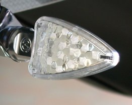 """SYENCRO"" Billet Aluminum LED Turn Signals by MotoCorse"