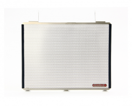 Titanium Radiator Screen by MotoCorse