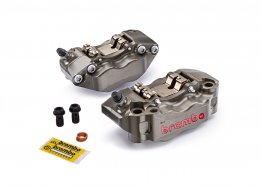 Hard Anodized 108mm HPK-2 Radial Billet Caliper Kit by Brembo