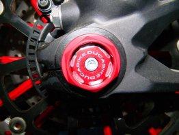 Left Side Front Wheel Axle Cap by Ducabike