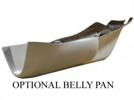 Racing Belly Pan for Termignoni Exhaust by Armour Bodies
