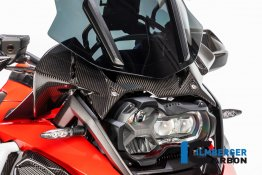 Carbon Fiber Instrument Panel Wind Guard by Ilmberger Carbon