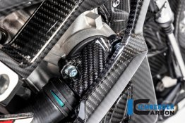 Carbon Fiber Water Pump Cover by Ilmberger Carbon