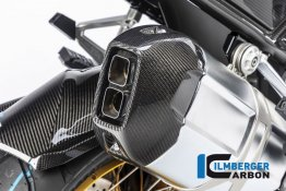 Carbon Fiber Exhaust End Cap by Ilmberger Carbon
