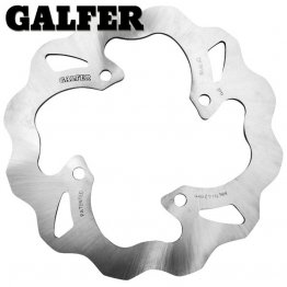 Rear Wave Brake Rotor by Galfer