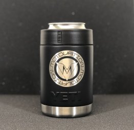 "Limited Edition Custom ""ROUND LOGO SERIES"" Yeti Colster Can Holder by Motovation Accessories"